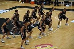 Copo de FIBA Trentino: Portugal contra Nova Zelândia Fotografia de Stock