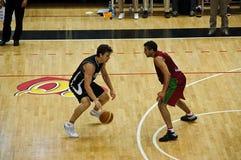 Copo de FIBA Trentino: Portugal contra Nova Zelândia Imagem de Stock Royalty Free