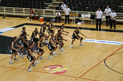 Copo de FIBA Trentino: Portugal contra Nova Zelândia Imagens de Stock