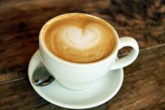 Copo de Latte Imagens de Stock