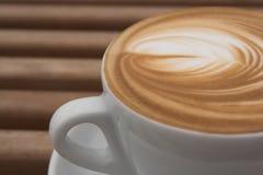 Copo de Latte Fotos de Stock