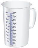 Copo de medição ilustração stock