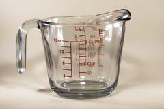 Copo de medição fotografia de stock royalty free