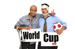 Copo de mundo Imagem de Stock Royalty Free
