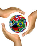 Copo de mundo 2010 Foto de Stock Royalty Free