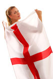 Copo de mundo 2010 - ventilador de Inglaterra Imagens de Stock Royalty Free