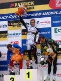 Copo de mundo de Cyclocross em Igorre fotos de stock royalty free