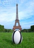 Copo de mundo do rugby Fotografia de Stock