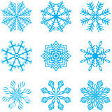 Copo de nieve ilustración del vector