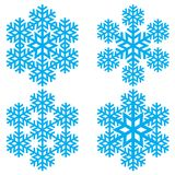 Copo de nieve abstracto decorativo Fotografía de archivo libre de regalías