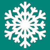 Copo de nieve abstracto decorativo Foto de archivo