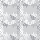 Copo de nieve abstracto decorativo inconsútil Fotos de archivo
