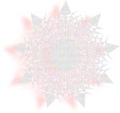 Copo de nieve colorido Imágenes de archivo libres de regalías