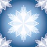 Copo de nieve de la Navidad del Libro Blanco. Fotografía de archivo