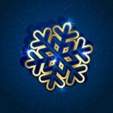 Copo de nieve de papel Imagen de archivo libre de regalías
