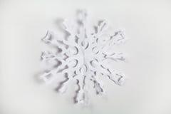 Copo de nieve de papel fino Foto de archivo libre de regalías