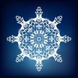 Copo de nieve decorativo Imagenes de archivo