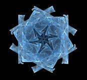 Copo de nieve del fractal Fotos de archivo