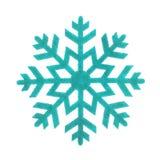 Copo de nieve del juguete aislado imágenes de archivo libres de regalías