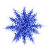 Copo de nieve hermoso 3d. Foto de archivo libre de regalías