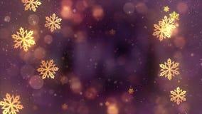 Copo de nieve hermoso de la Navidad en un fondo inconsútil del lazo del día de fiesta del fondo rojo del extracto ilustración del vector