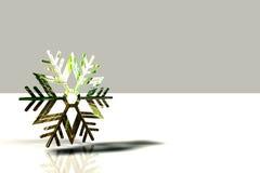 Copo de nieve para la Navidad fotografía de archivo libre de regalías