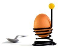 Copo de ovo do fio Fotografia de Stock