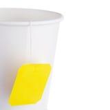 Copo de papel do chá Fotografia de Stock