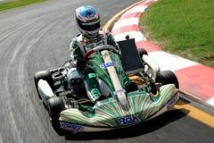 Copo de Rok da raça de Karting imagem de stock