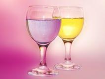 Copo de vinho mágico Foto de Stock Royalty Free