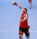 COPO DINAMO BUCARESTE DO EHF DOS HOMENS - BM DE FRAIKIN GRANOLLERS Imagem de Stock Royalty Free