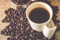 Copo do café imagem de stock royalty free