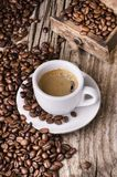 Copo do café Ainda vida 1 Imagem de Stock Royalty Free