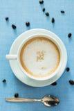 Copo do café do latte Imagem de Stock