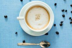 Copo do café do latte Foto de Stock