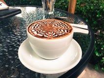 Copo do café do mocha em New York City da baixa Fotografia de Stock