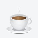 Copo do café ou do latte do cappuccino Ilustração Royalty Free