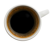 Copo do café preto Foto de Stock