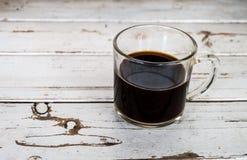 Copo do café preto Fotografia de Stock
