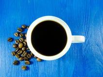 Copo do café preto Foto de Stock Royalty Free