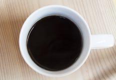 Copo do café preto quente Fotos de Stock Royalty Free