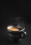 Copo do café quente fotografia de stock royalty free