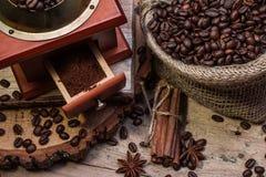 Copo do café quente, ainda vida Fotografia de Stock Royalty Free