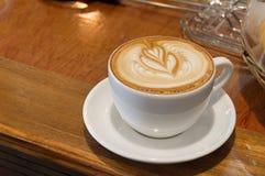 Copo do café quente tarde Foto de Stock Royalty Free