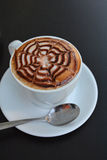 Copo do cappuccino Fotografia de Stock