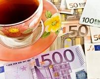 Copo do chá 1 Imagens de Stock