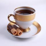 Copo do chá com bolinhos imagem de stock royalty free