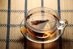 Copo do chá com teabag Imagem de Stock Royalty Free