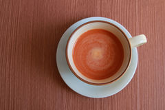 Copo do chá do leite Fotos de Stock