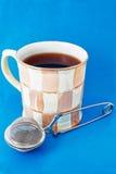 Copo do chá e do infuser do chá Fotos de Stock